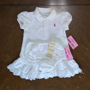 (NWT) Ralph Lauren Polo Dress Set